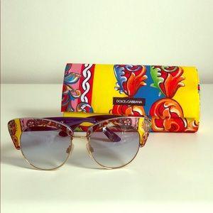 Dolce & Gabbana Sicilian Carretto Sunglasses